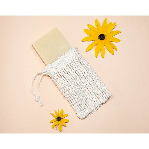 Soap Saver Bag - Natural  Wash Cloth