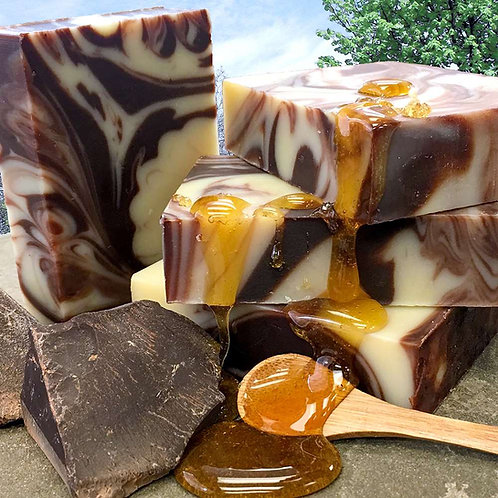 Chocolate & Honey Organic Bar Soap