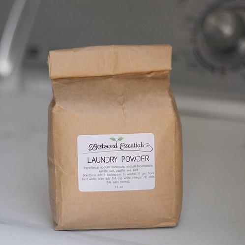 All Natural Laundry Powder