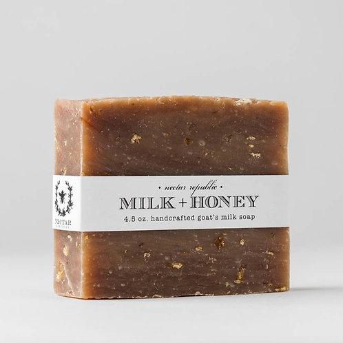 Goat's Milk & Honey Bar Soap