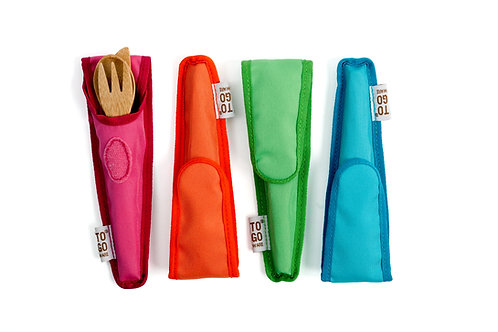 Bamboo Utensil Set for Kids
