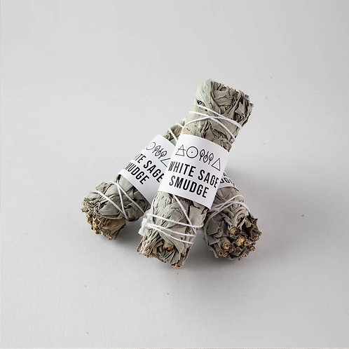 Small White Sage Smudge