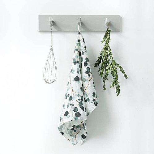 Linen Kitchen Towels in Eucalyptus