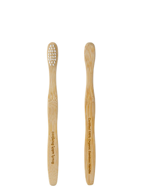 Toothbrush with Biodegradable Handle & Bristles - Kids