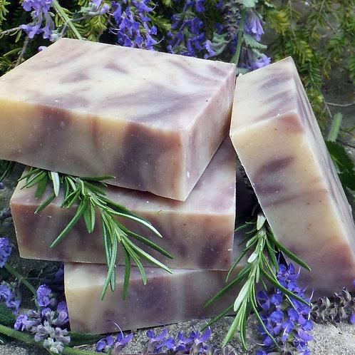 Lavender & Rosemary Organic Bar Soap