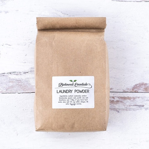 All Natural Laundry Powder Detergent
