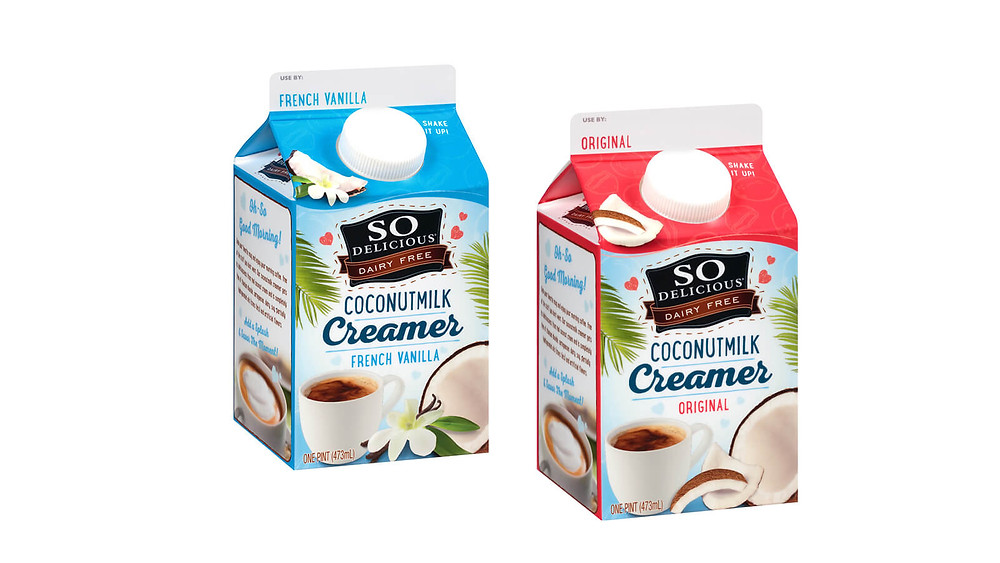 So Delicious dairy-free, vegan creamer review