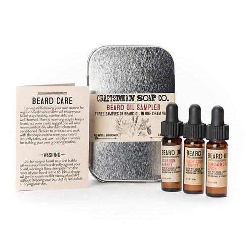 Beard Oil Sampler Set