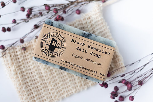 Organic Black Hawaiian Salt Soap
