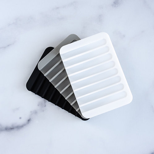 Self Draining Silicone Soap Dish