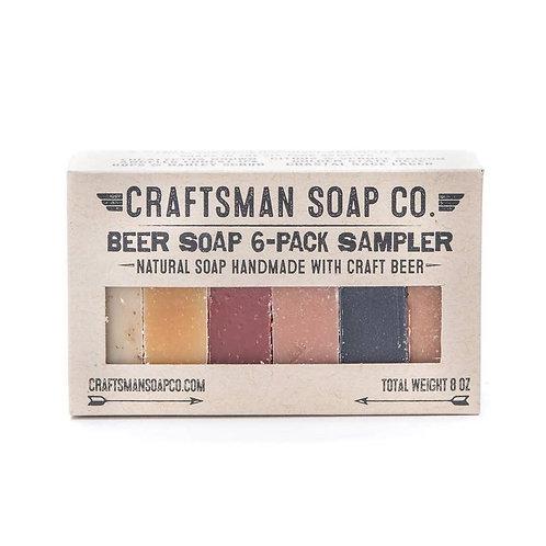 6 Piece Beer Soap Sampler