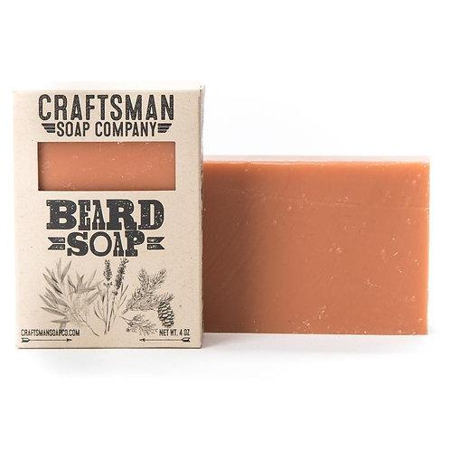 Beard Soap with Tea Tree, Cedar, Lavender & Spruce