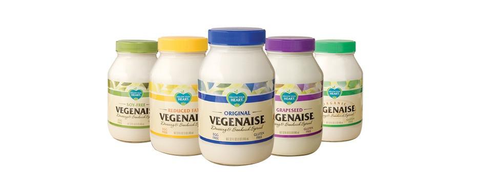 Vegenaise - my favorite dairy free vegan food product