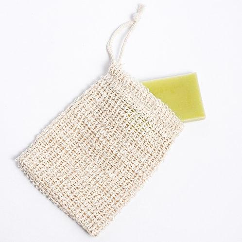 Soap Saver Bag - Natural  Wash Cloth