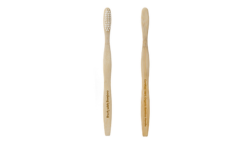 Toothbrush with Biodegradable Handle & Bristles - Adult