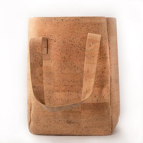 Natural Cork Market Tote Bag
