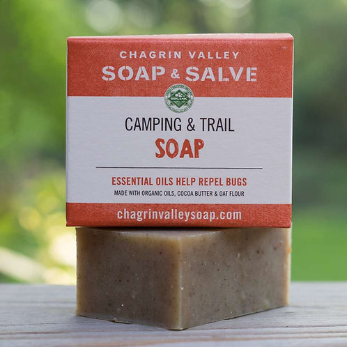 Camping & Trail Soap: Natural Bug Repellent