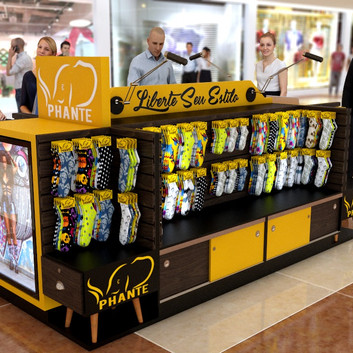 Quiosque para Shopping | Phante