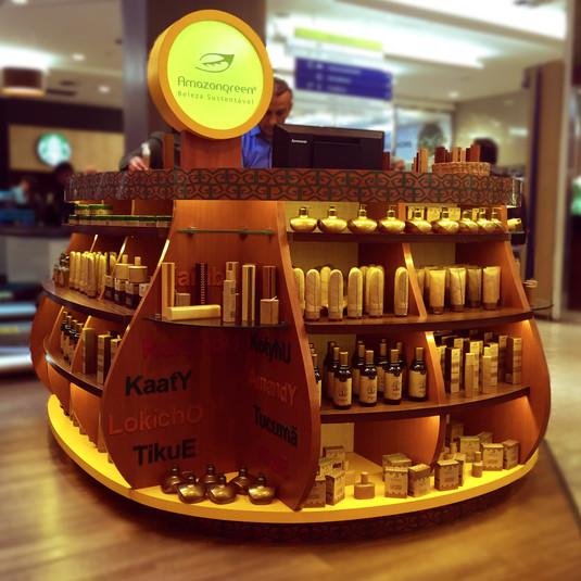 Quiosque para Shopping | Amazon Green