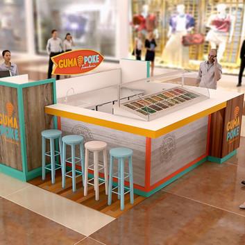Quiosque para Shopping | Guma Poke