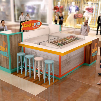 Quiosque para Shopping   Guma Poke