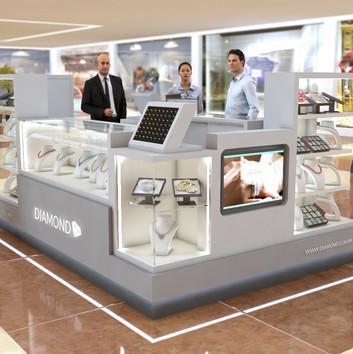 Quiosque para Shopping | Diamond