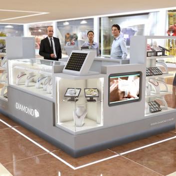 Quiosque para Shopping   Diamond