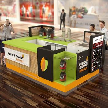 Quiosque para Shopping | Builder Shakes