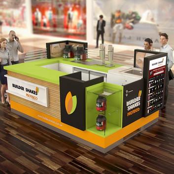 Quiosque para Shopping   Builder Shakes