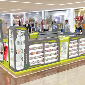 Quiosque para Shopping   Smartphone Center