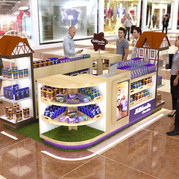 Quiosque para Shopping | Milklandia