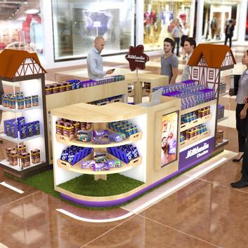 Quiosque para Shopping   Milklandia