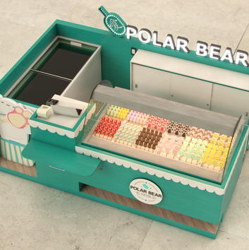 Quiosque para Shopping   Polar Bear