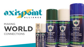 AxisPoint Alliance Selected as Global Distribution Partner for Complete Shield Cleaning Products