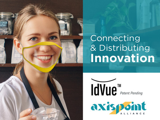 IdVue Partners with AxisPoint Alliance to Distribute Clear Face Masks