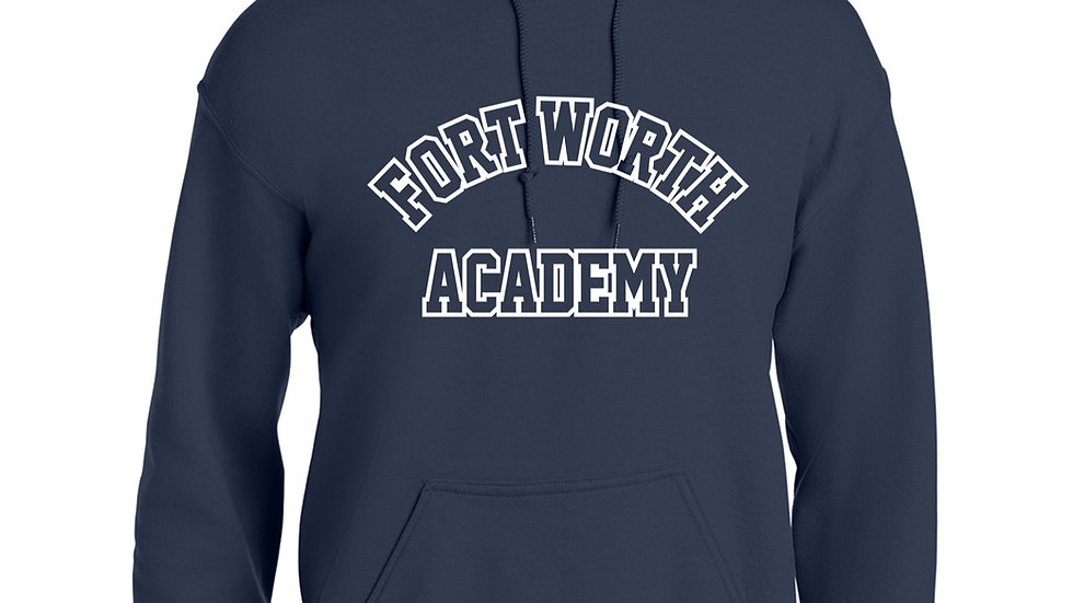 Navy Blue Fort Worth Academy Hoodie