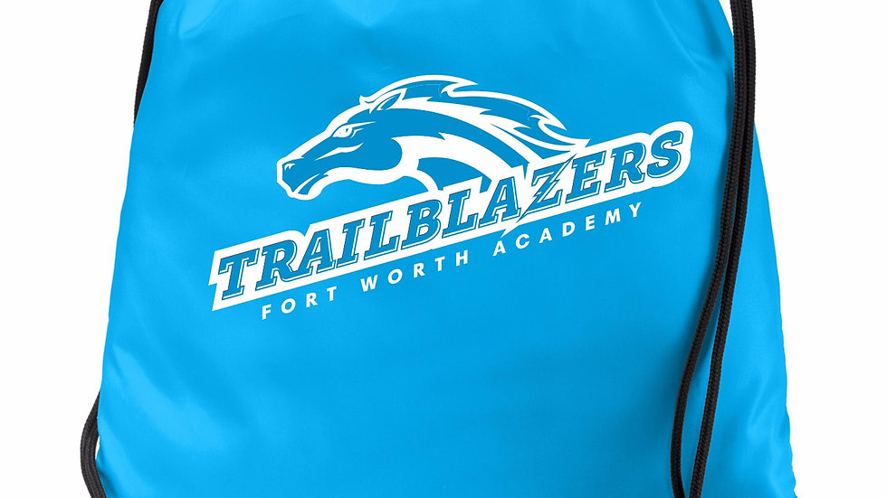 Trailblazer Drawstring Bag in House Colors