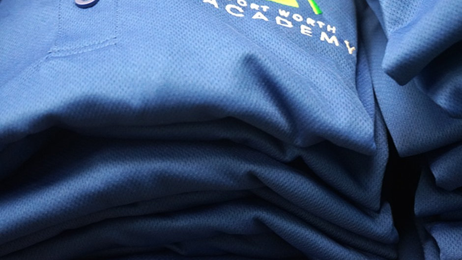 Dri-fit Royal Blue Uniform Shirt