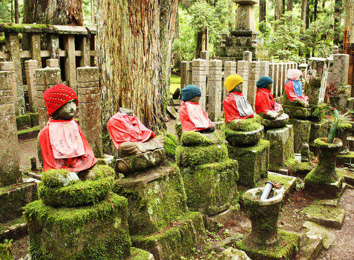 Japán erdei védőszellemek
