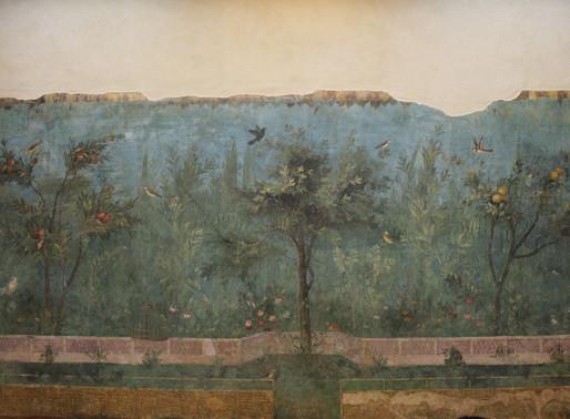 A Villa Livia freskója Rómában