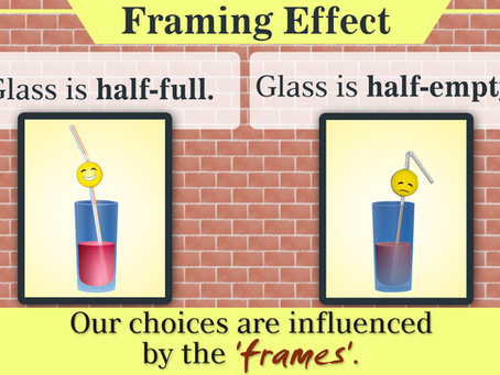 #BehavioralFinance series: The Curious Case of Framing Bias