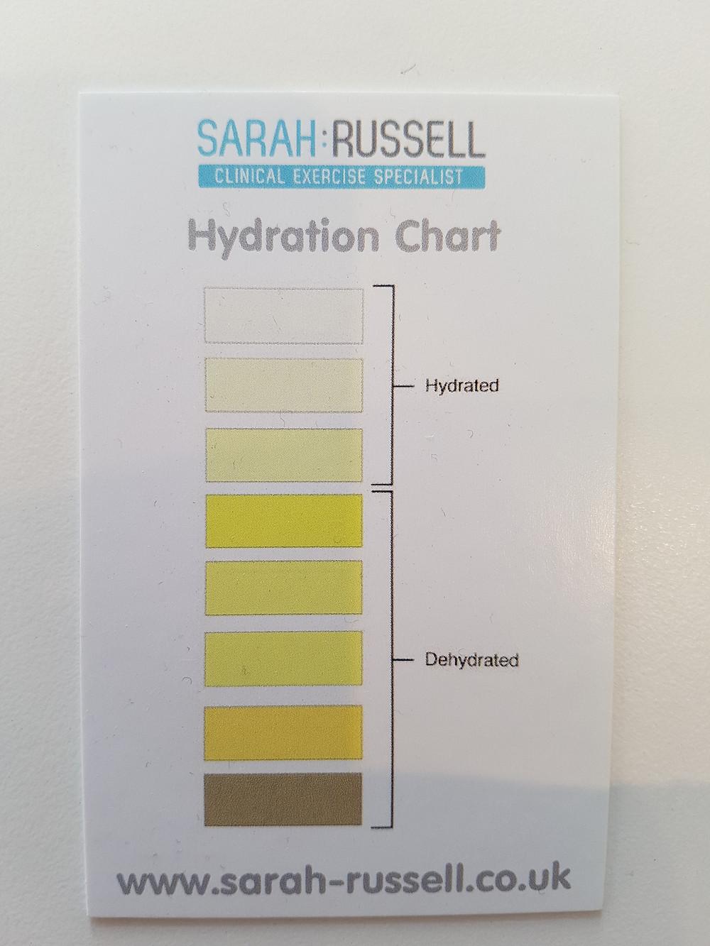 Pee Chart