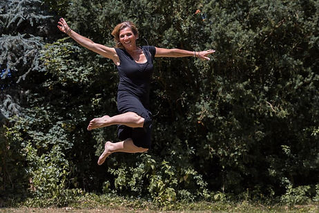 Springende Katinka Manders - Free To Be