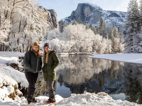 Pastel Yosemite Morning