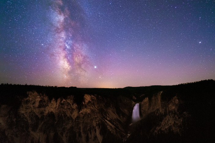 Yellowstone Milky Way