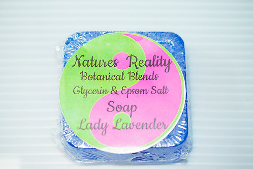 Natures Reality Botanical Blend Soap Lady Lavender (small)