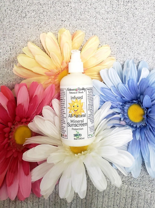 Natures Reality Botanical Blends, All-Natural Mineral Sun Protection Cream