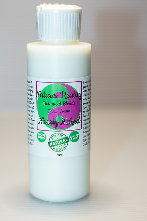 Natures Reality Botanical Blends Classic Cream Nearly Naked