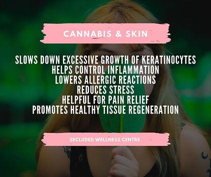 cannabis and skin