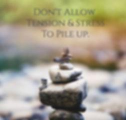 don't let stress pile up